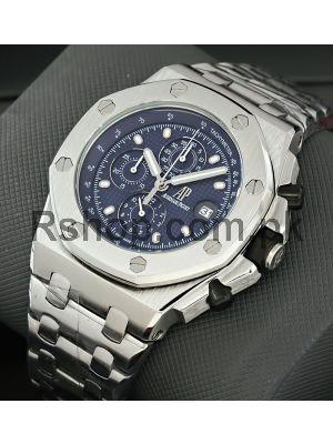 Audemars Piguet Royal Oak Offshore Chronograph Blue Dial Watch