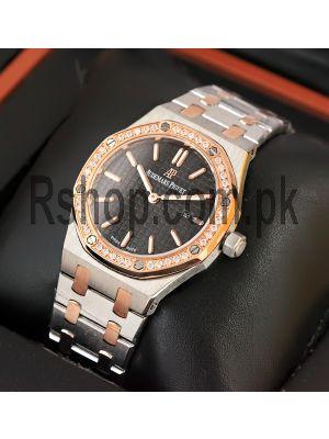 Audemars Piguet Royal Oak Ladies Black Dial Watch Price in Pakistan