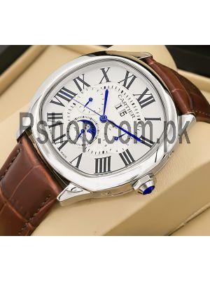 Cartier Drive de Cartier Moon Phases Men's Watch Price in Pakistan