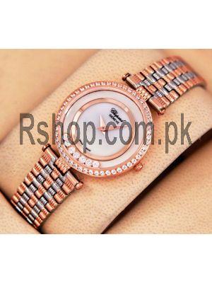 Chopard Happy Diamonds Ladies Two Tone Watch Price in Pakistan