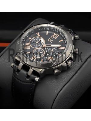 Gc Watches Sport Racer Gents Black Watch,