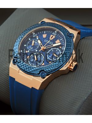 Guess Legacy Blue Dial Blue Silicone Ladies Watch Price in Pakistan