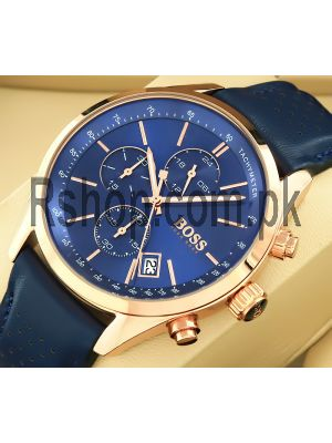 Hugo Boss Blue Dial Chronograph Watch Price in Pakistan