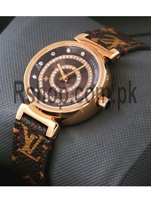 Louis Vuitton Ladies Diamond Dial Watch Price in Pakistan