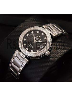Omega DeVille Ladymatic Black Dial Watch Price in Pakistan