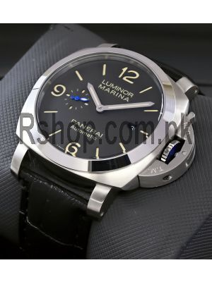 Panerai Luminor Marina Black Dial Watch Price in Pakistan