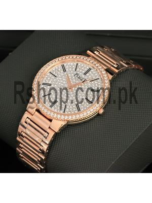 Piaget Traditional Diamond Rose Gold Watch Price in Pakistan