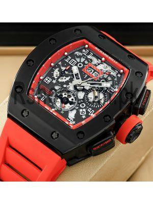 Richard Mille RM 011 Felipe Massa Flyback Chronograp Watch Price in Pakistan