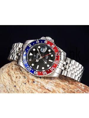 Rolex GMT Master II With Pepsi Bezel Swiss Quality ETA Movement 2836 Watch Price in Pakistan
