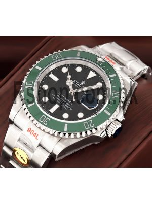 Rolex Submariner Green Bezel Swiss Watch Price in Pakistan