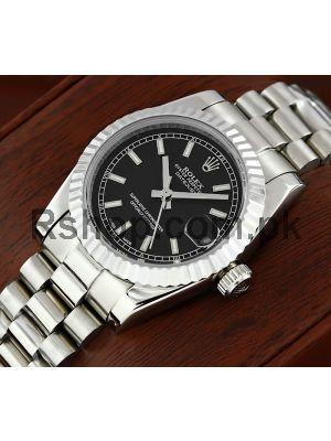 Rolex Lady-Datejust Black Dial Watch