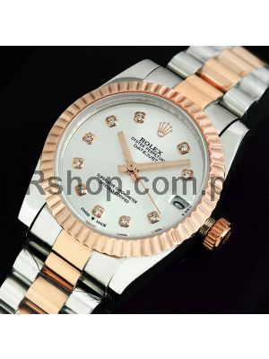 Rolex Lady-Datejust Silver Dial Watch