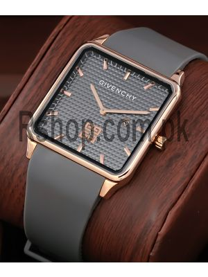 Givenchy Gray Square Ultra Slim Watch Price in Pakistan