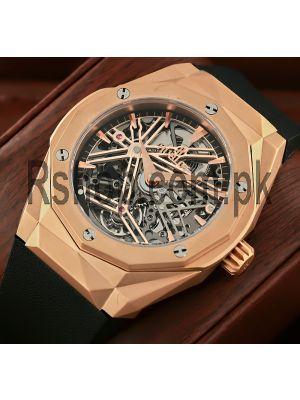 Hublot Classic Fusion Tourbillon Power Reserve 5 Days Orlinski King Gold Watch