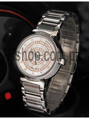 Louis Vuitton Tambour Ladies Diamon Dial Watch Price in Pakistan