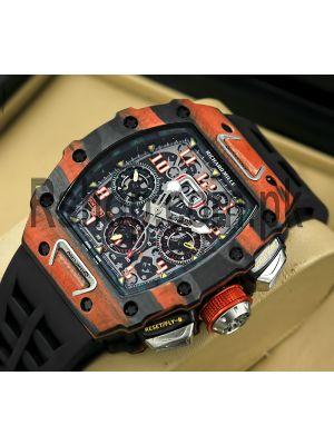 Richard Mille RM 11-03 Carbon Fiber Watch Price in Pakistan